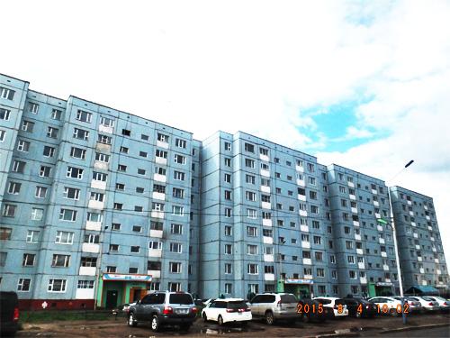 ソ連時代の建物